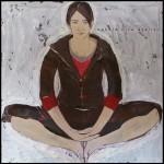 z cyklu ''medytacje''2007, 90x90cm